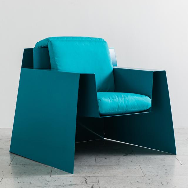 , 'Chris Rucker, Indoor/Outdoor Powder Coated Steel Deck Chair, USA, 2017,' 2017, Todd Merrill Studio