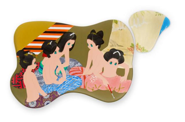 , 'tsuki wa kakureru (1 & 2),' 2011-2012, 10 Chancery Lane Gallery
