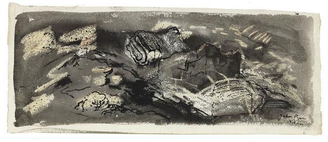 John Piper, 'Bodesi', 1949, Portland Gallery