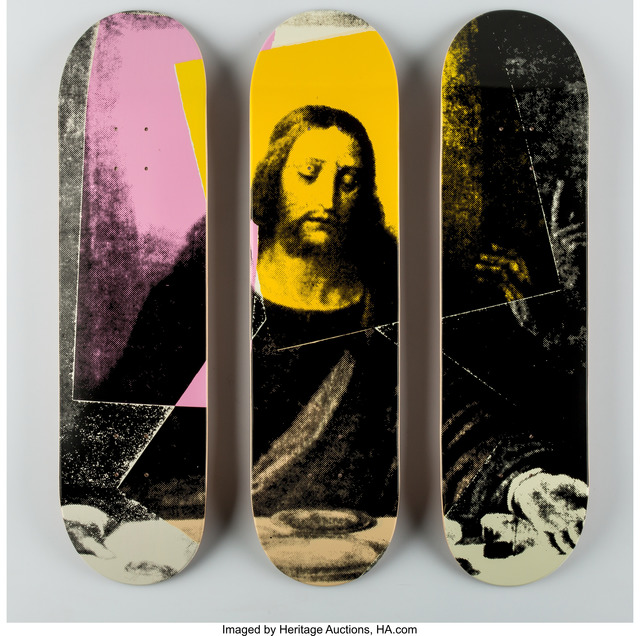 After Andy Warhol X The Skateroom, 'Last Supper, triptych', n.d., Heritage Auctions