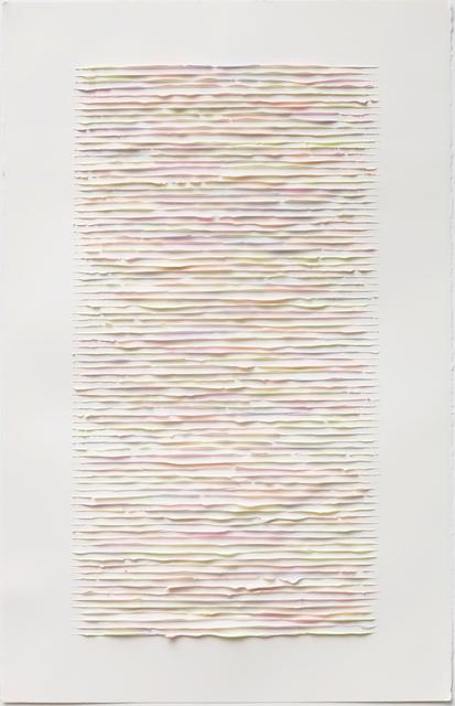 , 'Color lines #01,' 2017, Anne Mosseri-Marlio Galerie