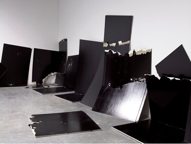 , '13 Shattered Panels (for Joey Ramone),' 2001, Gagosian