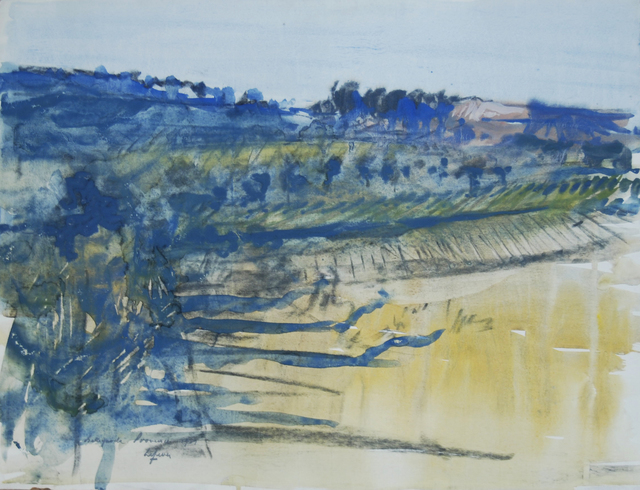 , 'Bellegarde, Provence,' 1969, Robert Eagle Fine Art