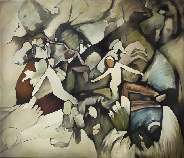 , 'Untitled (after Wassily Kandinsky),' 2015, lokal_30