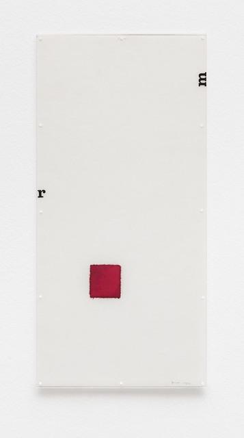 , 'Untitled [Little Stubs series],' 1972, Bergamin & Gomide