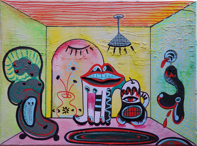 , 'Cuarto Menstrual,' 2017, Agustina Ferreyra