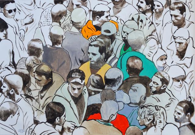 , 'Demonstration,' 2019, Zawyeh Gallery