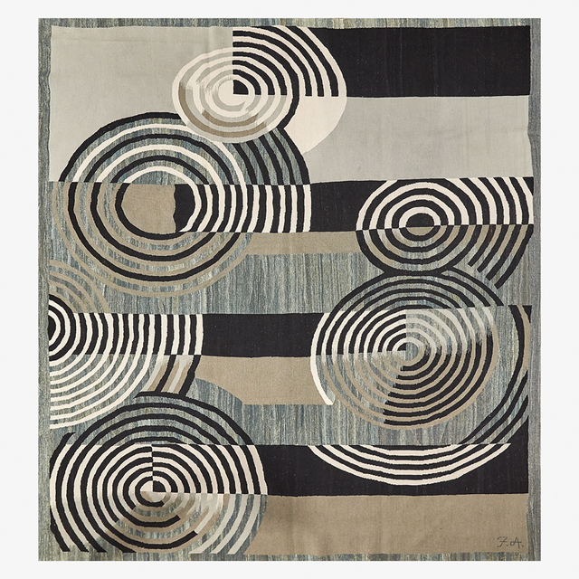 Unknown, 'French Accents room-sized wool rug', Rago