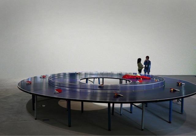 , 'Ping Pong Go-Round,' 2013, iPreciation