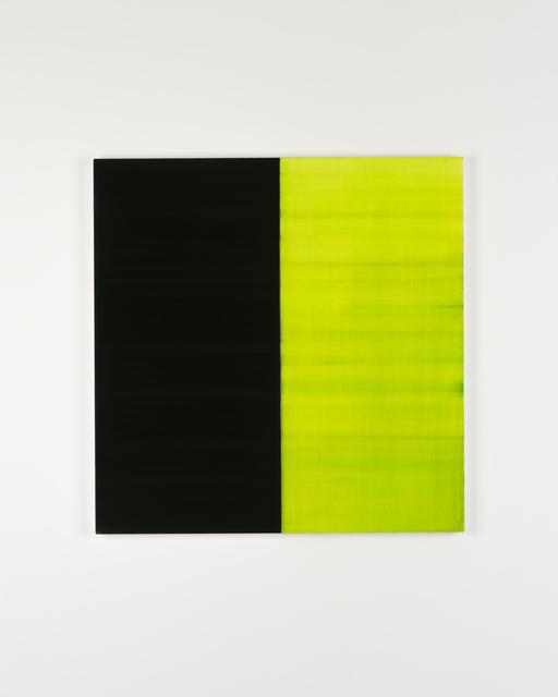 Callum Innes, 'Untitled Lamp Black No 9', 2019, i8 Gallery