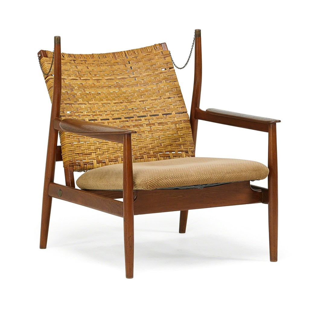 Finn Juhl, U0027Adjustable Lounge Chairu0027, 1950s, Rago