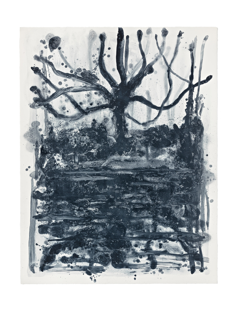 , 'Indigo Forest 13,' 2015, STPI