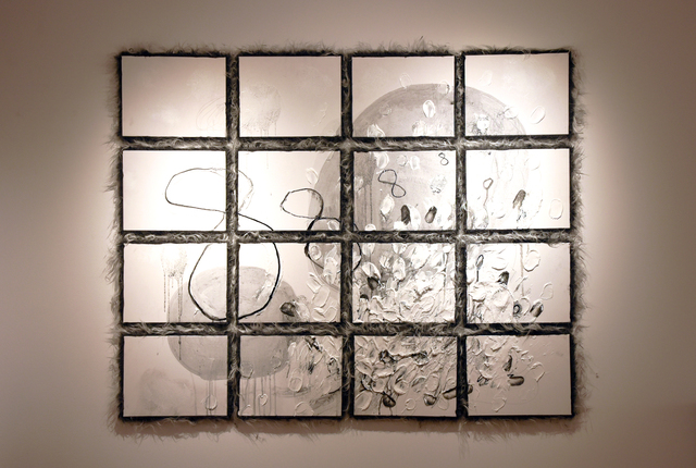, '8888 Grid and Partner,' 2018, Carter Burden Gallery