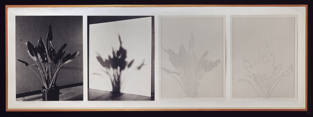 , 'Shadows II, Set 1,' 1980, Hammer Museum
