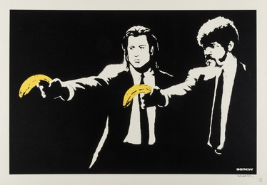 Banksy, 'Pulp Fiction,' 2004, Forum Auctions: Editions and Works on Paper (March 2017)