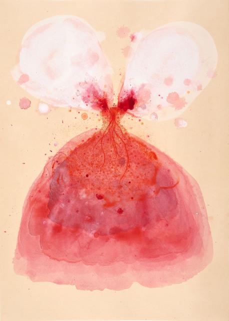 Didier Hamey, 'Capucine ', 2013, Print, Dry point enhanced on vellum paper lana pasted on Okawara paper, Antonine Catzéflis