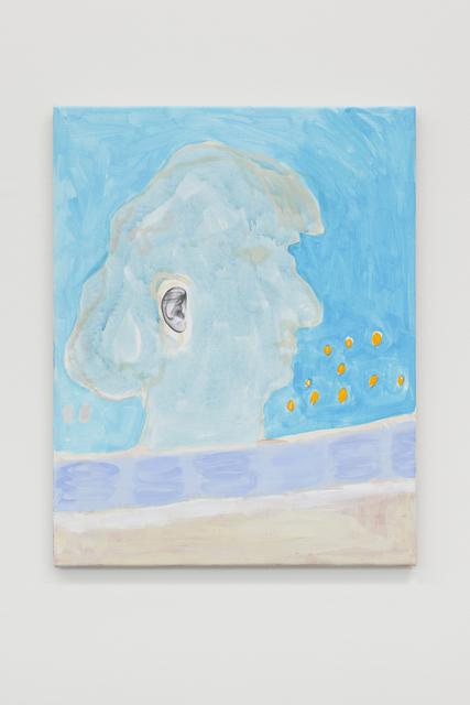 , 'Ohrenbild 1,' 2018, Galerie Mehdi Chouakri