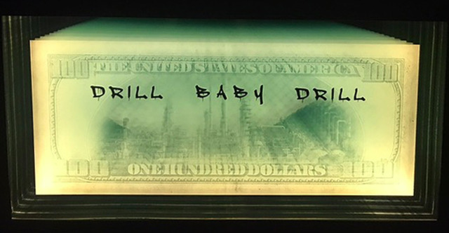 , 'Drill Baby Drill ,' 2017, Oliver Cole Gallery