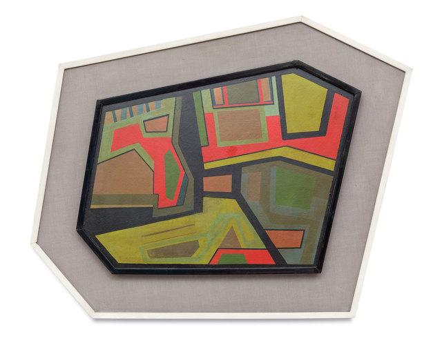, 'Cosmopolis I,' 1946, Simões de Assis Galeria de Arte