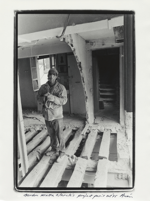 , 'Gordon Matta-Clark, 9th Paris Biennale, Paris, October, 1975,' 1975, White Rainbow