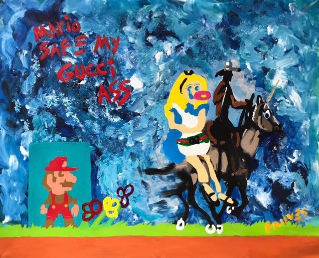 , 'MARIO SAFE MY GUCCI ASS,' 2017, Marcel Katz Art