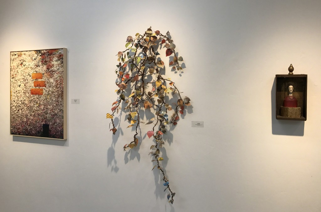 Charles Eckart, Lisa Kokin, & Joe Brubaker in Gallery II
