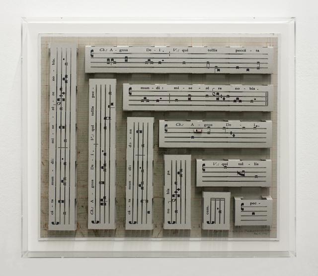 , 'Agnus Dei,' 2012, Galerie Mezzanin