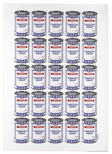 After Banksy, 'Soup Cans Poster', 2010, Chiswick Auctions