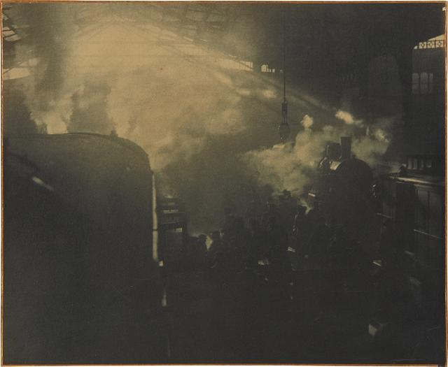 Otto Wegener, 'Parisian Railroad Station', circa 1910, Phillips