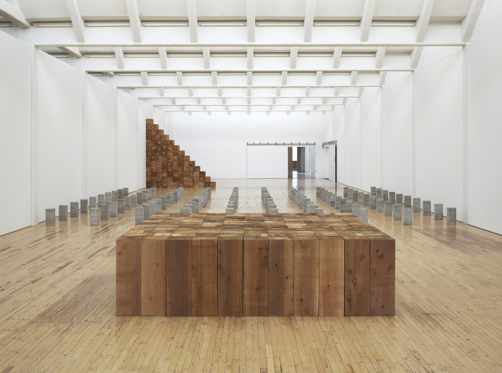 © Carl Andre/Licensed by VAGA, New York, NY. Photo: Bill Jacobson Studio, New York. Courtesy Dia Art Foundation.