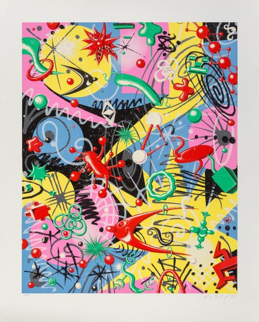 Kenny Scharf, 'Grammy', 1997, Print, Lithograph on wove paper, Heritage Auctions