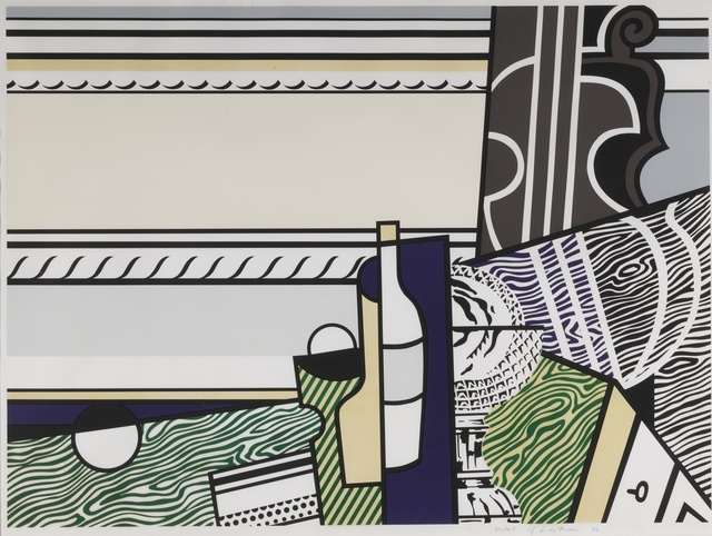Roy Lichtenstein, 'Still Life with Crystal Bowl (C. 150)', 1976, Print, Screenprint and lithograph printed in colors, Sotheby's