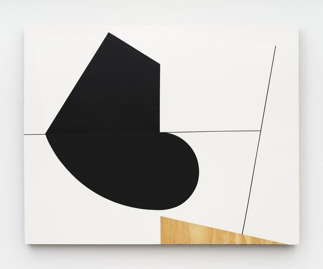 Serge Alain Nitegeka, 'Mass: Studio Study XVI', 2019, Painting, Paint on wood, Marianne Boesky Gallery