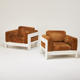 "Pair of ""Bastiano"" lounge chairs"