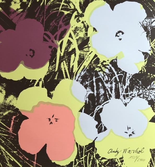 Andy Warhol, 'Flowers', 1986, ByNewArt