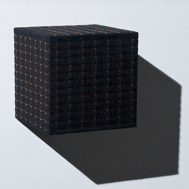 Denise Yaghmourian, 'Black Cube w/ Copper #1', 2008, Bentley Gallery