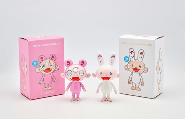 Takashi Murakami, 'Kaikai-chan (BLUE eyes); and Kiki-chan (BLUE eyes), from Kaikai & Kiki', 2018, Phillips