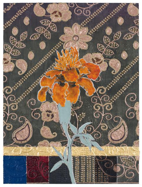 , 'Dupatta Marigold,' 2017, DC Moore Gallery