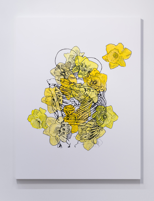 , 'Eternal (Kissing/Daffodils),' 2019, Ever Gold [Projects]