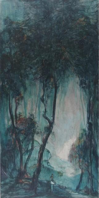 , 'Poet in the Woods,' 2017, Aye Gallery