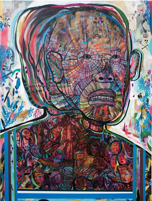 , 'Ghost Walker,' 2016, Galerie Matthew Namour