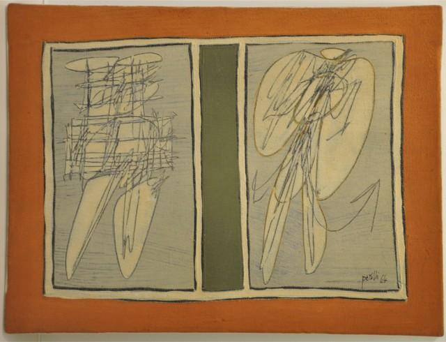 , 'Ego Ausiliare,' 1964, Galleria Tega