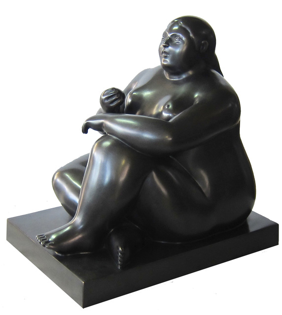 , 'Seated Woman with Apple,' 2012, Art Of The World Gallery