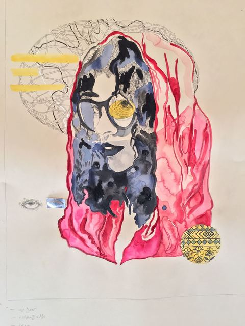 Alka Dass, 'Anger ', 2019, 99 Loop Gallery