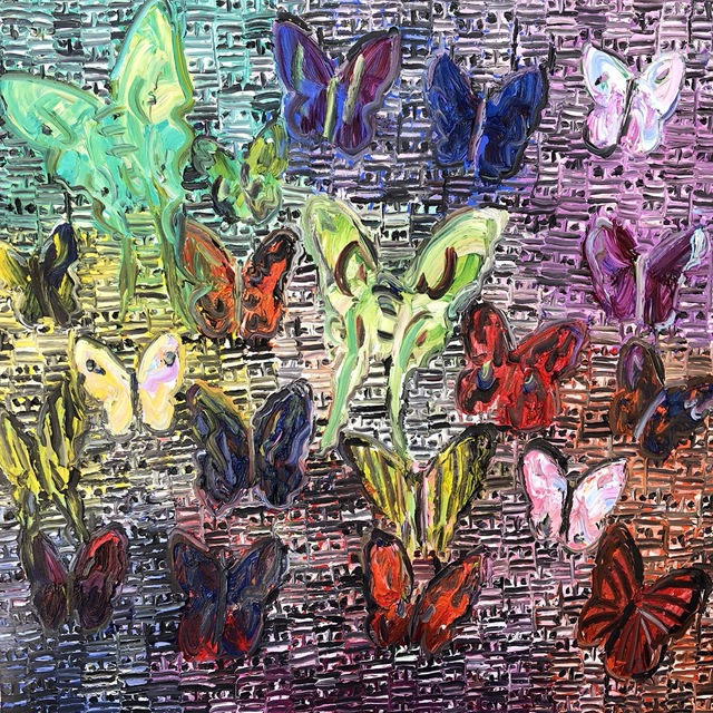 , 'Butterflies, Guardians,' 2015, Jessica Hagen Fine Art + Design