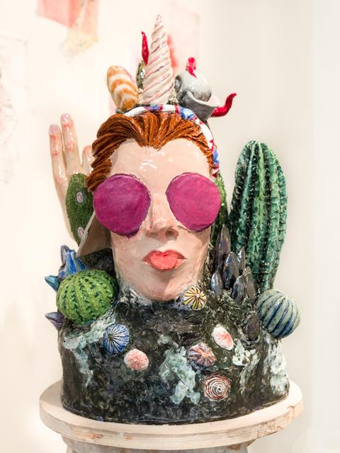 , 'Autel Femme,' 2018, Antonine Catzéflis