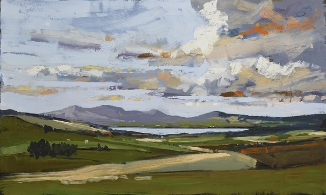 , 'A View from Fanad to Inishowen,' 2019, SOL Art Gallery