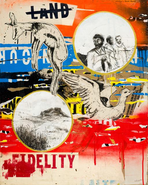 , 'Land Fidelity 2,' 2017, Kalashnikovv Gallery