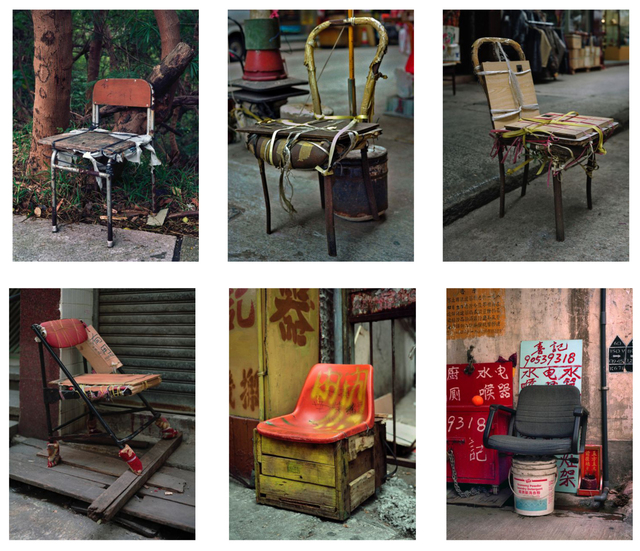 , '#4, Hong Kong Bastard Chair 1, MFT group,' 2014, GALLERY FIFTY ONE