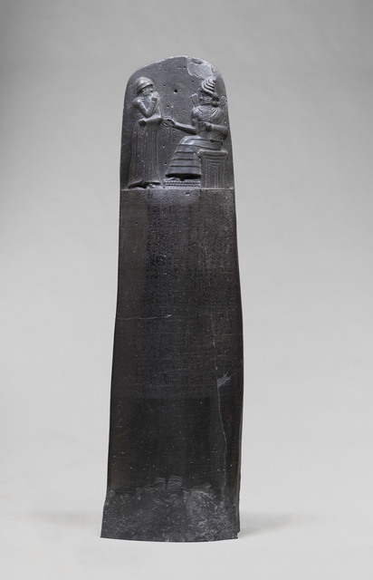 'Code de Hammurabi, Roi de Babylone (Code of Hammurabi, King of Babylon)', ca. 1792-1750 B.C., Musée du Louvre